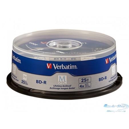 Verbatim M-DISC BD-R 25 ГБ 4X