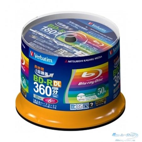 Verbatim Blu-ray диски 50 ГБ 6X