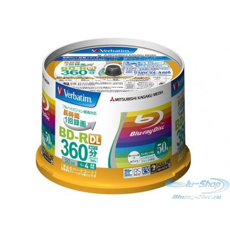 Verbatim Blu-ray диски 50 ГБ 4x
