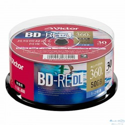 Victor JVC Blu-ray диски BD-RE 50 ГБ 2x